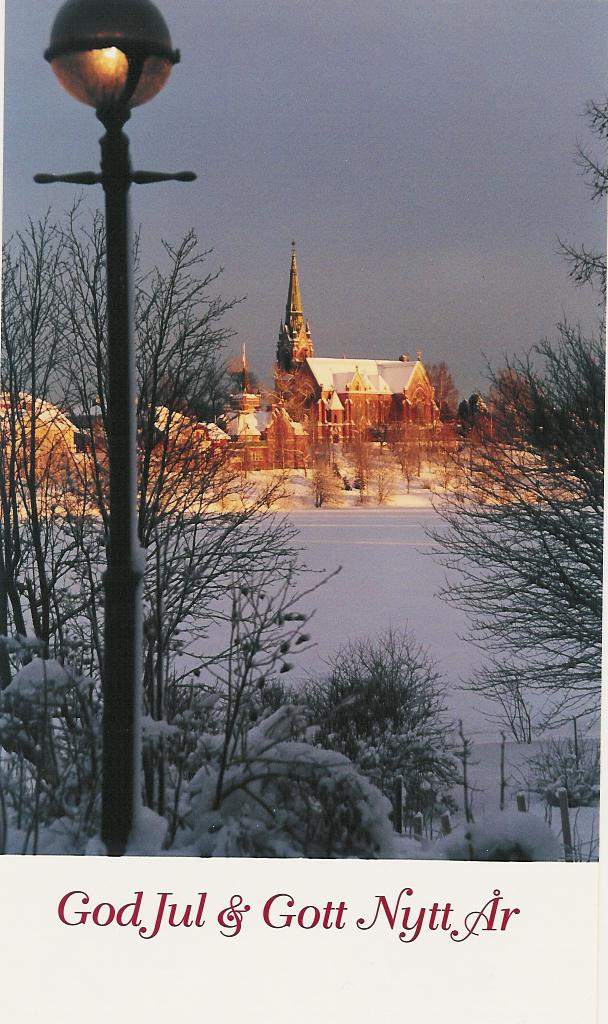Chrismas Greeting from Umea